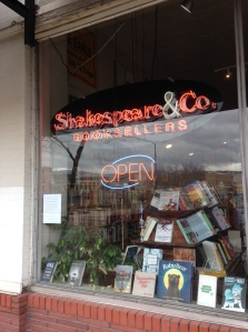 Shakespeare & Co. Sign